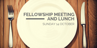 Fellowship meeting and lunch